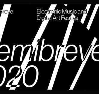 Cartaz do Festival Semibreve 2020.