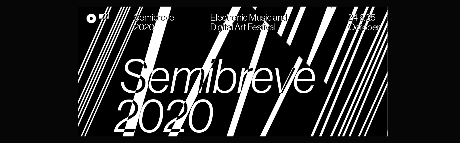 Cartaz do Festival Semibreve 2020.