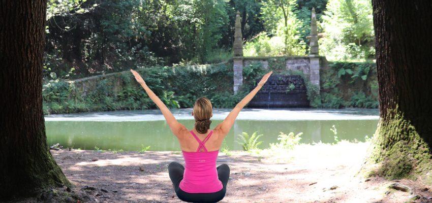 Pilates no Mosteiro, uma nova proposta de atividade para fortalecer o corpo e a mente.