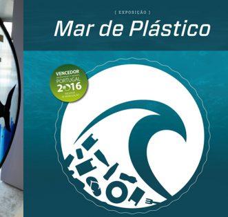 Exposição Mar de Plástico no Mosteiro de São Martinho de Tibães, alerta para a necessidade de proteção do mar.