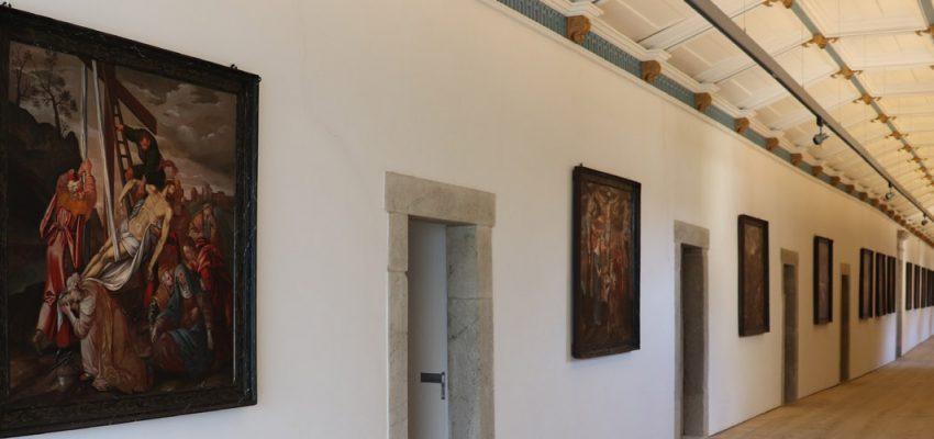 Alteração de horários de abertura ao público do Mosteiro de Tibães nos dias 14, 15, 21 e 22 de novembro de 2020, devido à Covid-19.